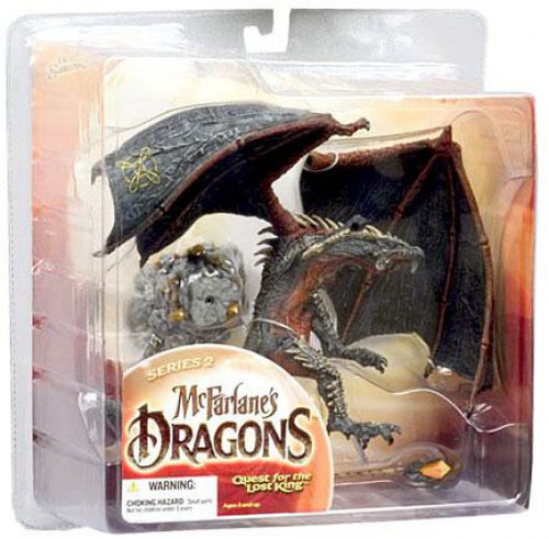 McFarlane Toys Dragons Quest for the Lost King Series 2 Sorcerers Clan Dragon 2 Action Figure