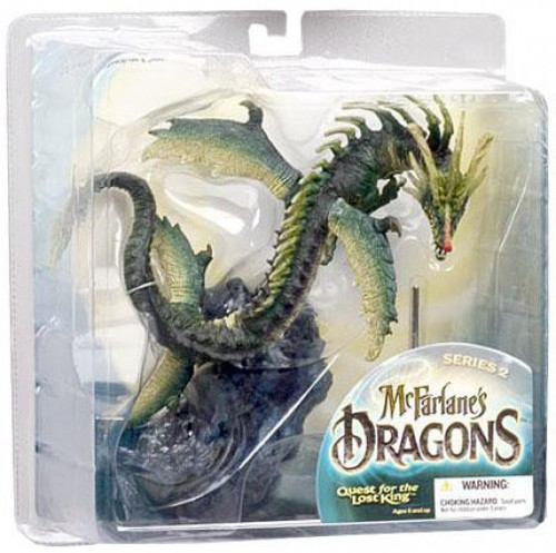McFarlane Toys Dragons Quest for the Lost King Series 2 Water Clan Dragon 2 Action Figure