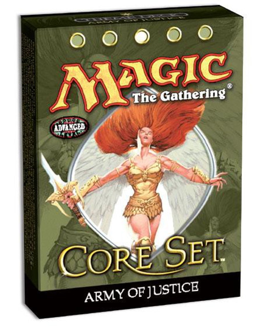 MtG Trading Card Game 9th Edition Army of Justice Theme Deck