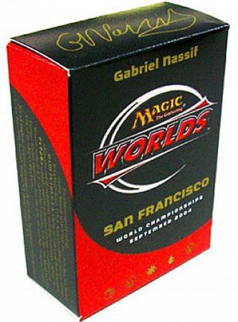 MtG Trading Card Game 2004 World Championship Gabriel Nassif Championship Deck
