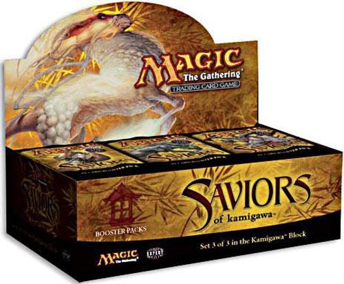 MtG Trading Card Game Saviors of Kamigawa Booster Box [36 Packs]