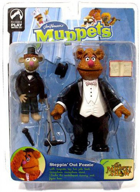 The Muppets The Muppet Show Series 9 Fozzie Action Figure [Steppin' Out]