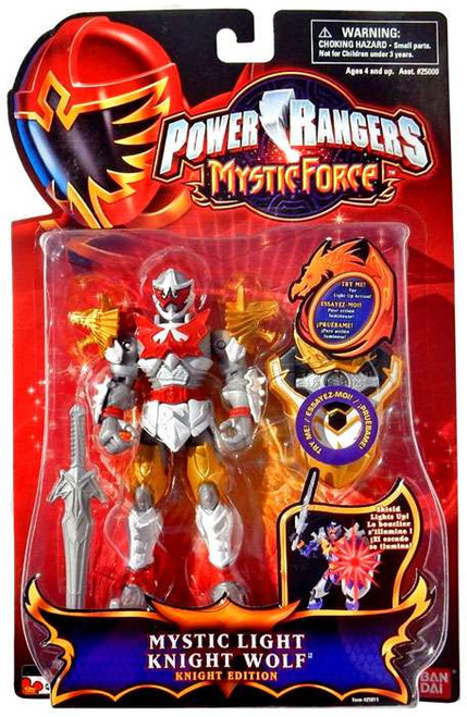 Power Rangers Mystic Force Mystic Light Knight Wolf Action Figure [Knight Edition]