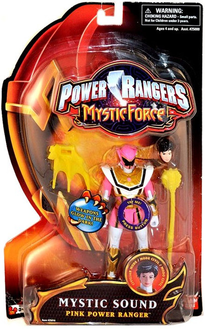 Power Rangers Mystic Force Mystic Sound Pink Power Ranger Action Figure