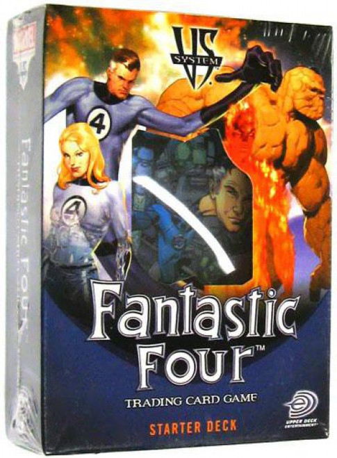 Marvel VS System Trading Card Game Fantastic Four Starter Deck