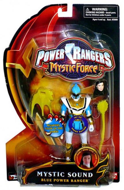 Power Rangers Mystic Force Mystic Sound Blue Power Ranger Action Figure
