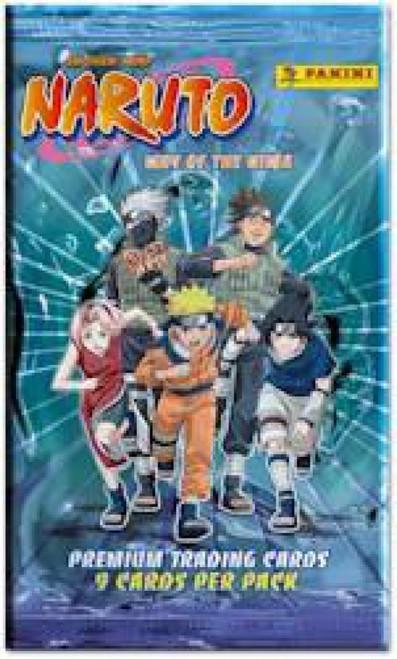 Naruto Panini Way of the Ninja Trading Card Pack
