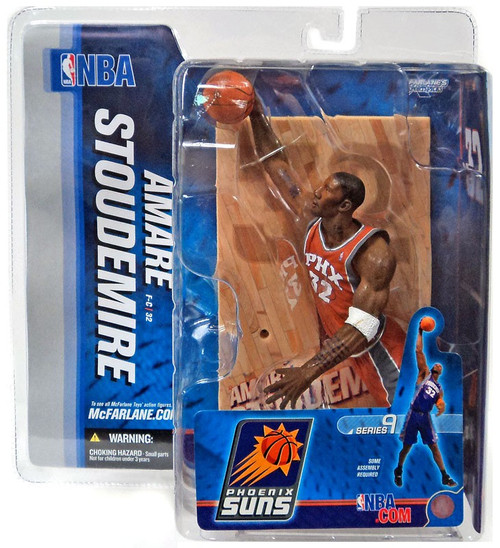 McFarlane Toys NBA Phoenix Suns Sports Picks Series 9 Amare Stoudemire Action Figure [Orange Jersey Variant]