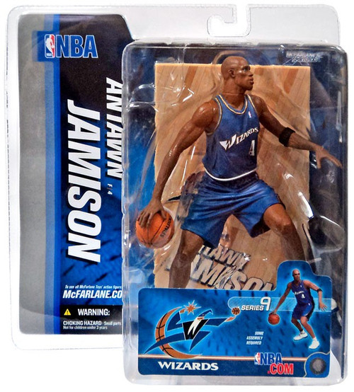 McFarlane Toys NBA Washington Wizards Sports Picks Series 9 Antawn Jamison Action Figure [Blue Jersey]