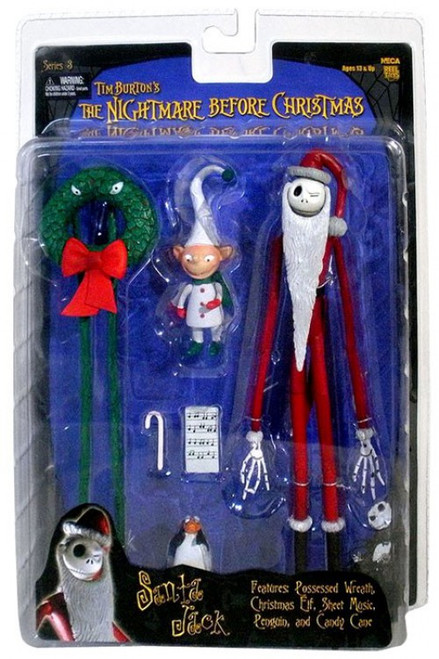 NECA Nightmare Before Christmas Series 3 Santa Jack Action Figure