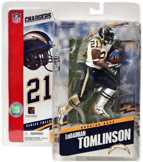 McFarlane Toys NFL San Diego Chargers Sports Picks Series 12 LaDainian Tomlinson Action Figure
