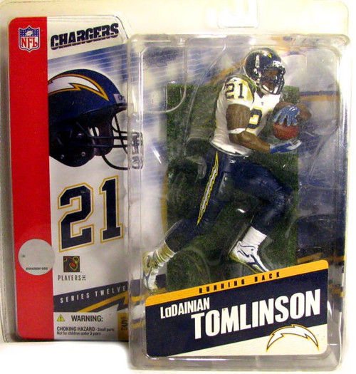 McFarlane Toys NFL San Diego Chargers Sports Picks Series 12 LaDainian Tomlinson Action Figure [Sock Error Variant]