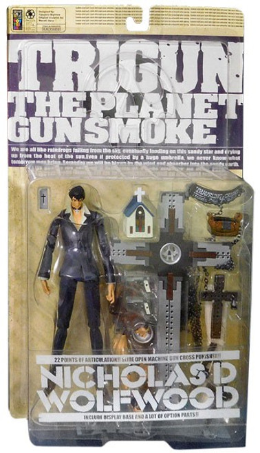 Trigun The Planet Gunsmoke Nicholas D. Wolfwood Action Figure
