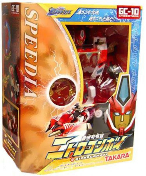 Transformers Japanese Galaxy Force Nitro Convoy Action Figure GC-10 [Override, Damaged Package]