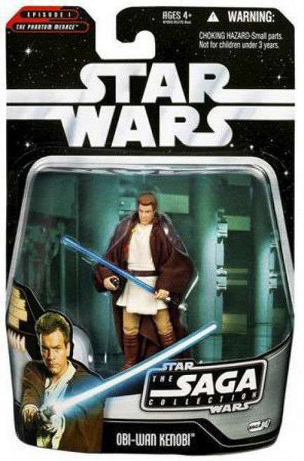 Star Wars Phantom Menace 2006 Saga Collection Obi-Wan Kenobi Action Figure #47 [Padawan]