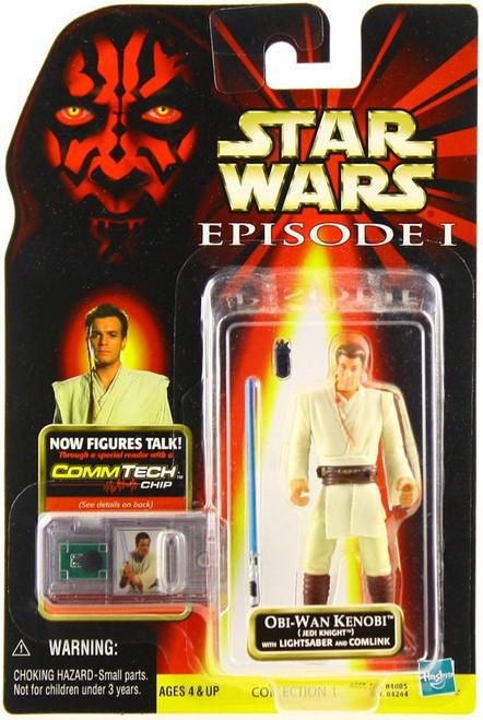Star Wars Phantom Menace 1999 Episode I Basic Obi-Wan Kenobi Action Figure [Jedi Knight]