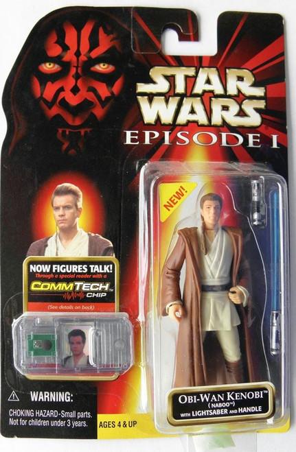 Star Wars Phantom Menace 1999 Episode I Basic Obi-Wan Kenobi Action Figure [Naboo]