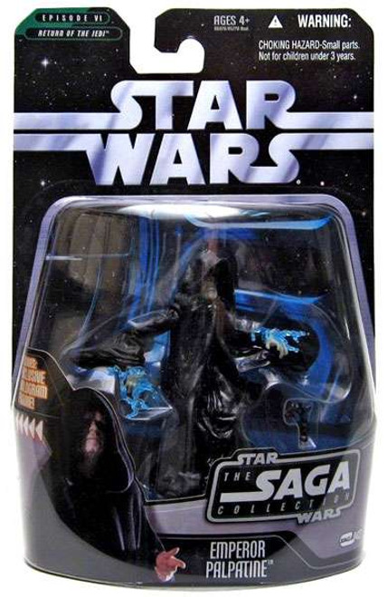 Star Wars Return of the Jedi 2006 Saga Collection Emperor Palpatine Action Figure #43