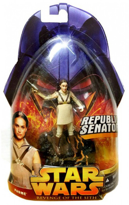 Star Wars Revenge of the Sith 2005 Padme Amidala Action Figure #19