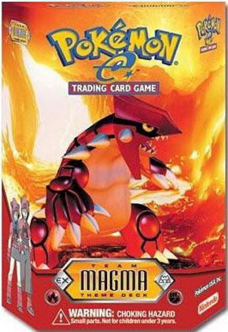 Trading Card Game Pokemon-e Team Magma Theme Deck