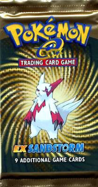 Pokemon Trading Card Game EX Sandstorm Booster Pack [9 Cards]