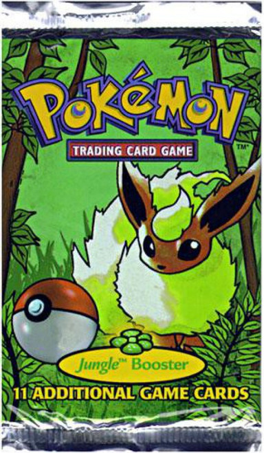 Pokemon Trading Card Game Jungle Booster Pack [11 Cards]