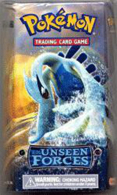 Pokemon EX Unseen Forces Silvery Ocean Theme Deck