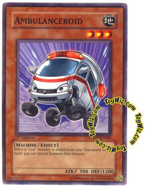 YuGiOh GX Trading Card Game Power of the Duelist Common Ambulanceroid POTD-EN009