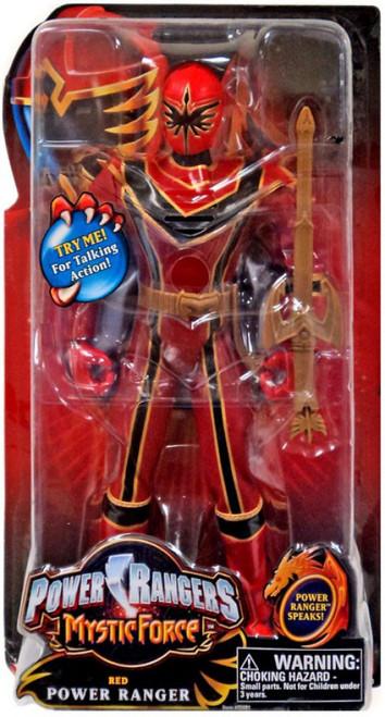 Power Rangers Mystic Force Red Power Ranger Talking Action Figure