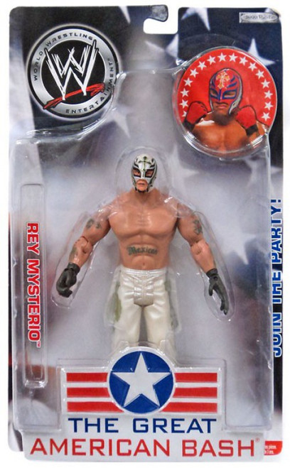 WWE Wrestling The Great American Bash Rey Mysterio Action Figure
