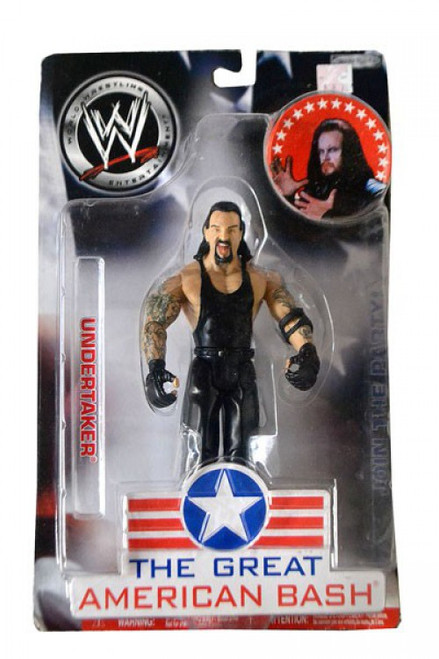 WWE Wrestling The Great American Bash Undertaker Action Figure