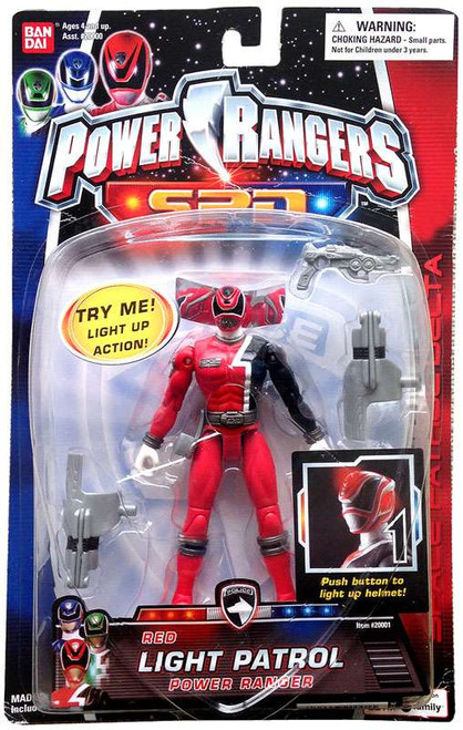 Power Rangers SPD Red Light Patrol Power Ranger Action Figure