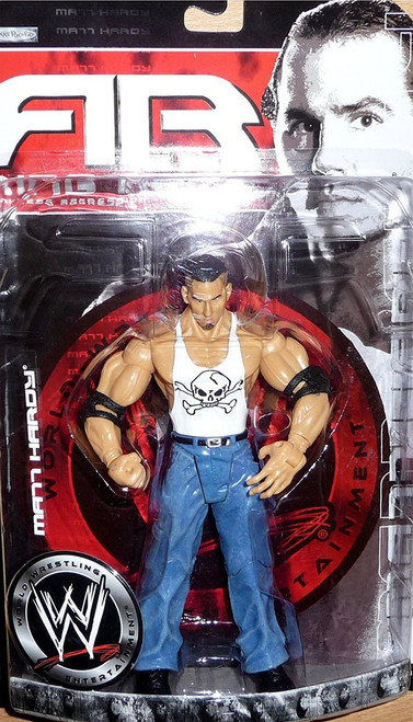 WWE Wrestling Ruthless Aggression Series 18.5 Ring Rage Matt Hardy Action Figure