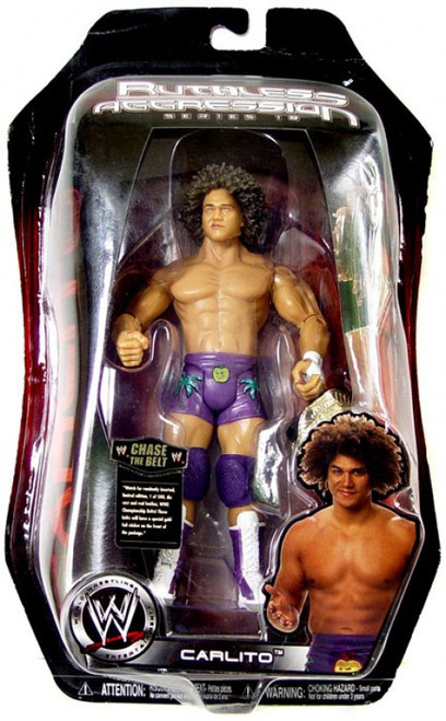 WWE Wrestling Ruthless Aggression Series 18 Carlito Action Figure