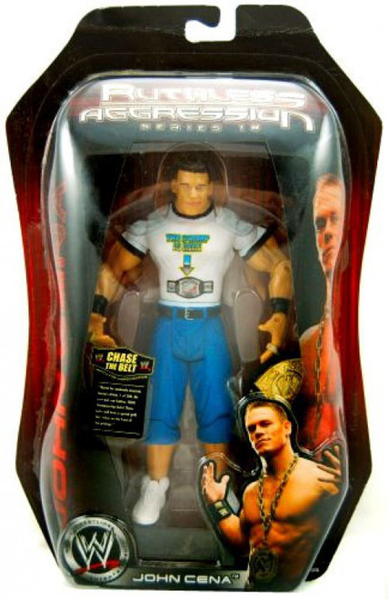 WWE Wrestling Ruthless Aggression Series 18 John Cena Action Figure