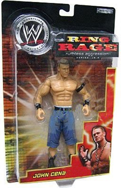 WWE Wrestling Ruthless Aggression Series 16.5 Ring Rage John Cena Action Figure
