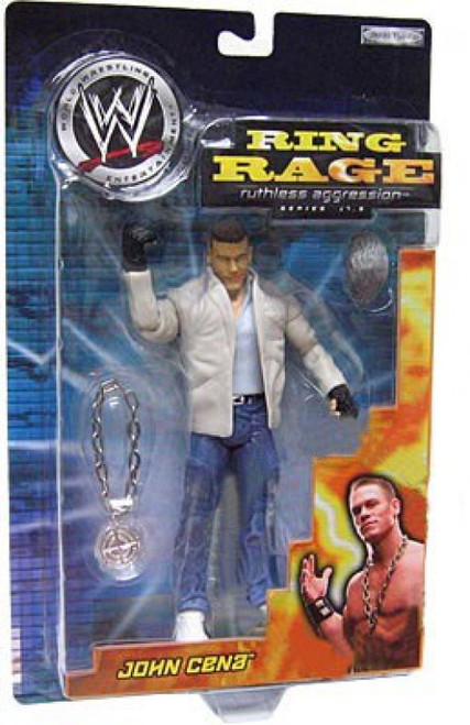 WWE Wrestling Ruthless Aggression 17.5 Ring Rage John Cena Action Figure [Bad Bad Man Music Video]