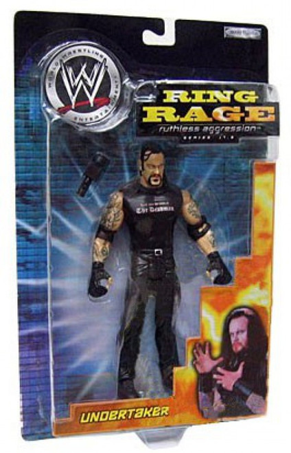 WWE Wrestling Ruthless Aggression 17.5 Ring Rage Undertaker Action Figure