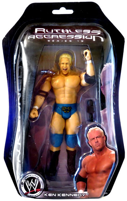 WWE Wrestling Ruthless Aggression Series 19 Mr. Ken Kennedy Action Figure