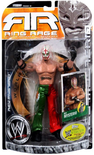 WWE Wrestling Ruthless Aggression Series 22.5 Ring Rage Rey Mysterio Action Figure