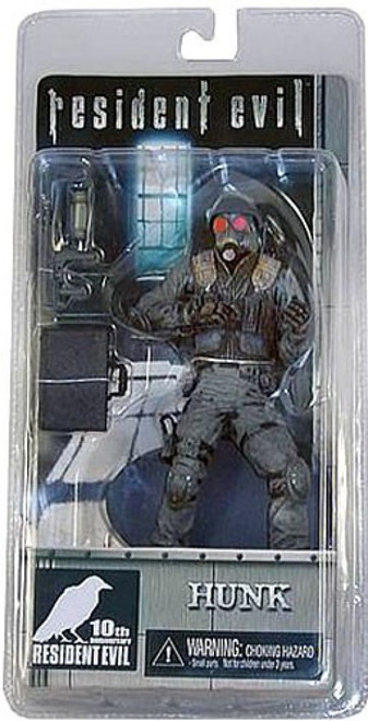 NECA Resident Evil 10th Anniversary Series 1 Hunk Action Figure