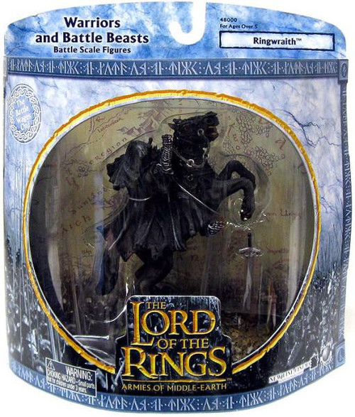 The Lord of the Rings Armies of Middle Earth Warriors and Battle Beast Ringwraith Figure Pack [Rearing]