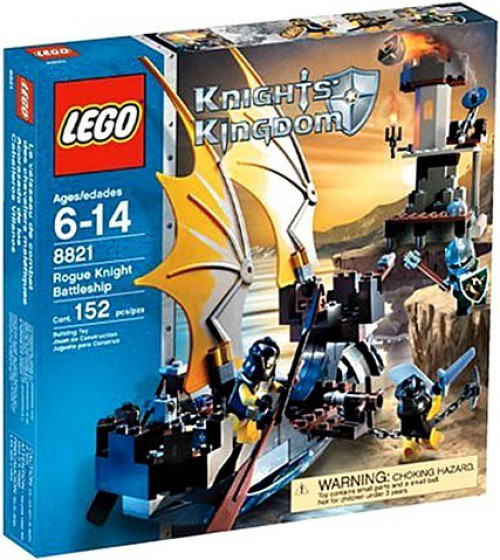 LEGO Knights Kingdom Rogue Knight Battleship Set #8821