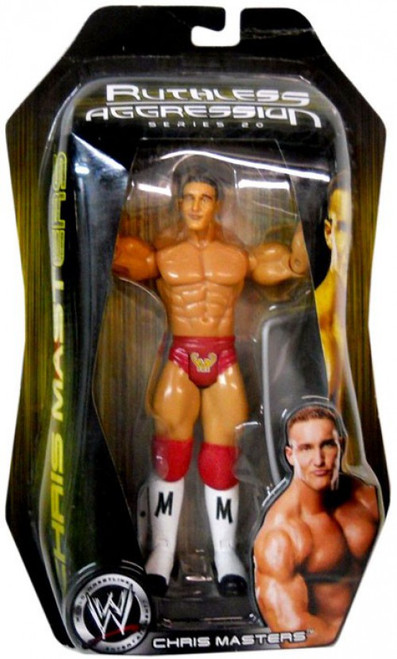 WWE Wrestling Ruthless Aggression Series 20 Chris Masters Action Figure