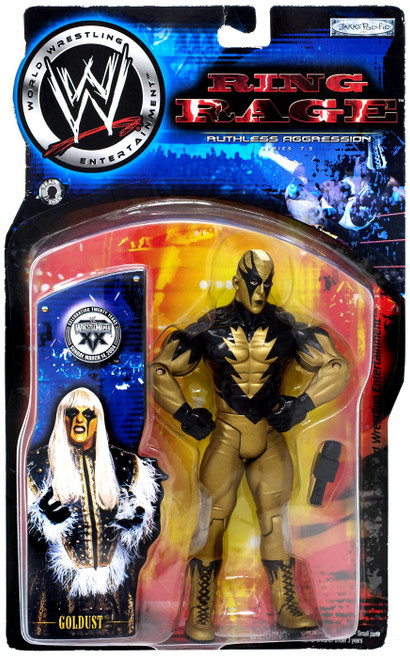 WWE Wrestling Ruthless Aggression Series 7.5 Ring Rage Goldust Action Figure