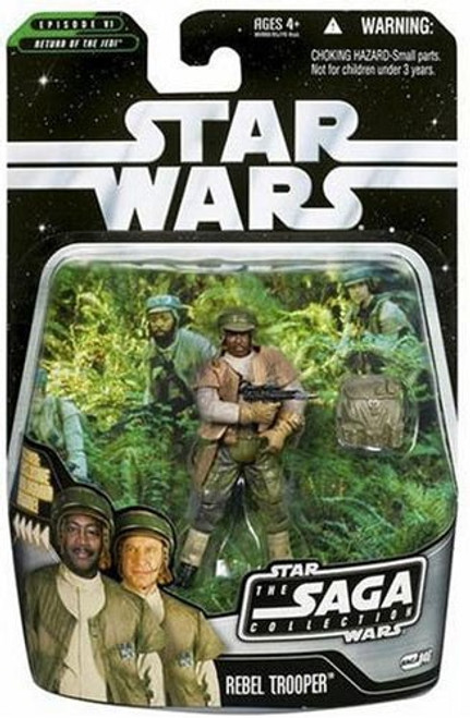 Star Wars Return of the Jedi 2006 Saga Collection Rebel Trooper Action Figure #46 [RANDOM Ethnicity]