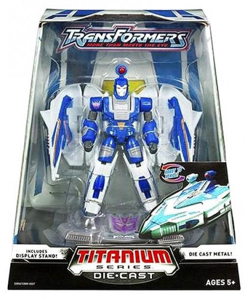 "Transformers War Within TItanium Series Scourge 6-Inch 6"" Diecast Figure"