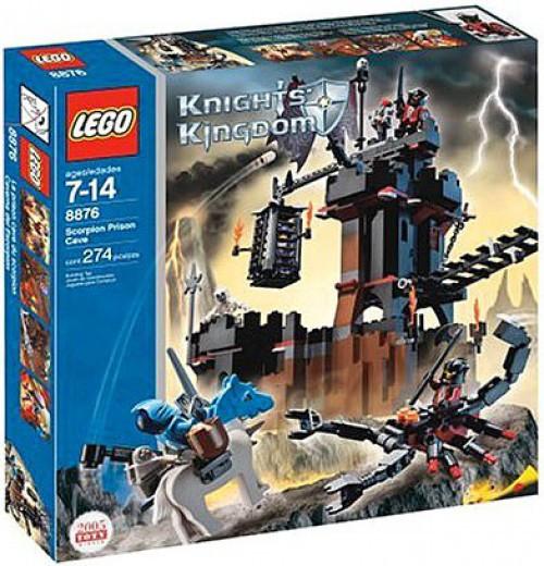 LEGO Knights Kingdom Scorpion Prison Cave Set #8876