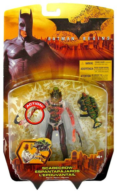 Batman Begins Scarecrow Action Figure