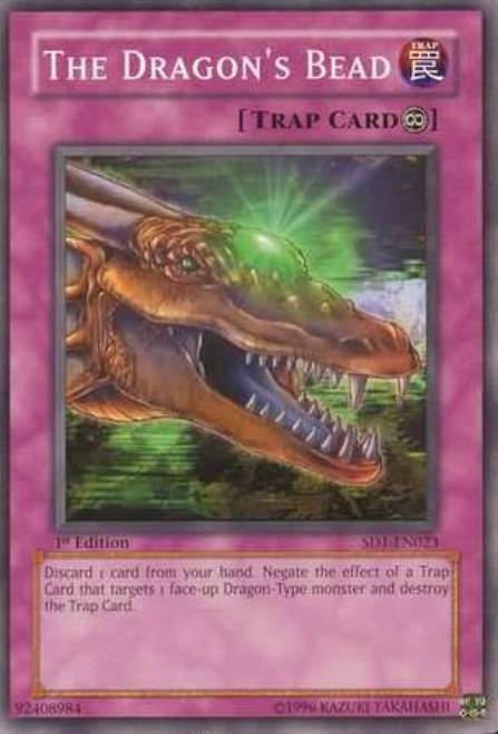 YuGiOh GX Trading Card Game Structure Deck: Dragon's Roar The Dragon's Bead SD1-EN023